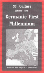SS Culture - Volume Five: Germanic First Millennium
