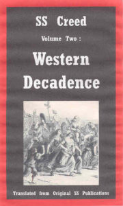 SS Creed - Volume Two: Western Decadence