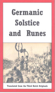 Germanic Solstice and Runes
