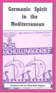 Germanic Spirit in the Mediterranean