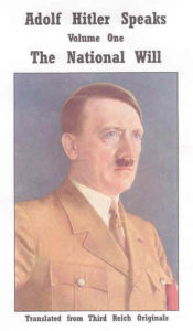 Adolf Hitler Speaks - 4 Book Set